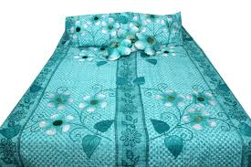robin egg blue calcutta bed cover bed sheets