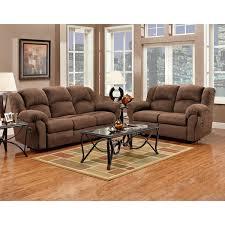 Black Microfiber Couch And Loveseat Aruba Chocolate Microfiber Dual Reclining Sofa And Loveseat Set