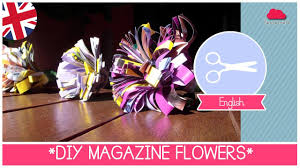 magazines home decor summer home decor diy magazine flowers how to recycle magazines