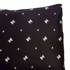 skull pillow cases king size cotton skull bedding by sin in