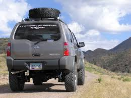 lifted nissan car nissan xterra 2in body lift installation