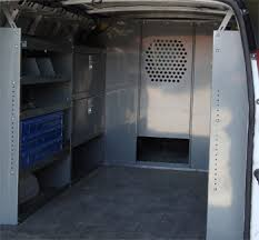 Ford Transit Connect Shelving by Van Shelving Storage Unit Full Size Vans Ford Gmc Chevy