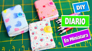 diy diario en miniatura manualidadesconninos diy doll videos