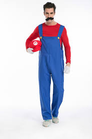 Super Mario Family Halloween Costumes Mario Collection Classical Super Mario Cosplay Costumes Family