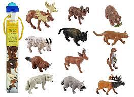 amazon com safari ltd wild safari north american wildlife toob