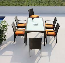 20 ways to modern outdoor dining table