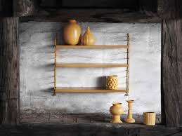 String Shelving by Buy The String Pocket Shelving Mustard At Nest Co Uk
