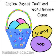 Easter Basket Decorating Games by Easter Crafts For Kids Page 2
