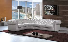 Chesterfield White Leather Sofa White Leather Sofa
