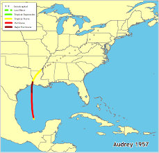 map of the gulf of mexico hurricanes in history