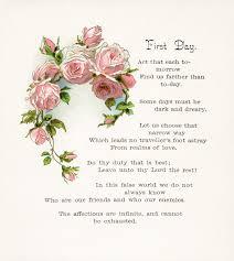 free vintage clip art pink rose and poem old design shop blog