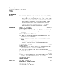 Driver Sample Resume by Sample Of Driver Resume Free Resume Example And Writing Download