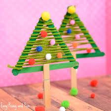 craft sticks tree craft easy peasy and