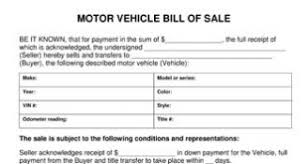 bill of sale template car rv bill of sale