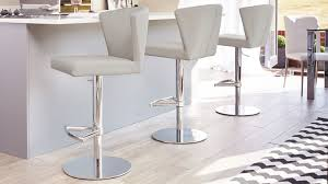 curvy modern gas lift bar stool chrome pedestal uk