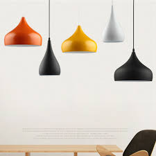 online shop modern pendant lights two simple shapes various colors