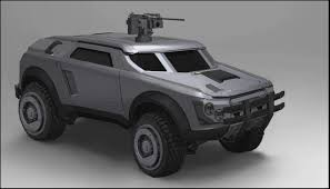 futuristic military jeep another new vehicle concept from command center planetside