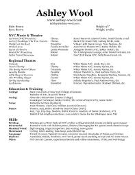 Ballet Resume Sample by Dancer Resume Sample With Sample Dance Resume For High