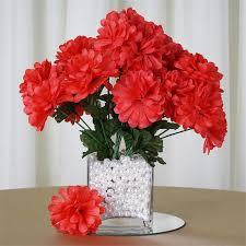 12 chrysanthemum mums bushes wedding decoration centerpieces
