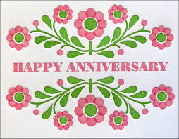Happy Anniversary Wedding Wishes Happy Anniversary Wedding Greeting Ecard Online With Black And Red