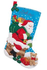 16 best images about christmas stocking kits on pinterest felt