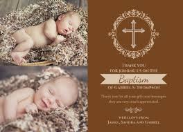baptism thank you wording baptism thank you wording what to write in a baptism thank you card