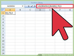 Normal Distribution Table Calculator How To Create A Normal Distribution With Excel 8 Steps