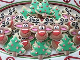 christmas sugar cookies icing christmas lights decoration