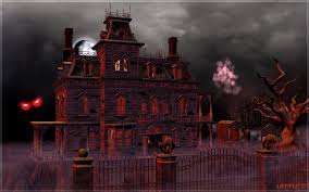 free haunted house halloween video background 3d haunted house wallpaper wallpapersafari