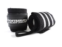 amazon com contraband black label 1001 wrist wraps in light