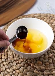 vanilla pound cake with nutella swirl vanilla and eggs little