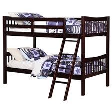 Angel Line Fremont Twin Over Twin Bunk Bed  Reviews Wayfair - Espresso bunk bed