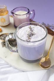 lavender tea lavender tea latte club crafted