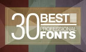 30 best professional fonts illustrator tutorials tips