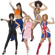 Halloween Costumes Ebay Spice Girls Costume Ebay