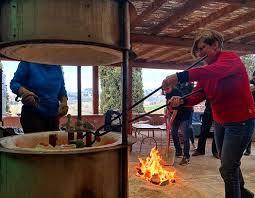 cuisine meridiana saci ceramics raku field trip to la meridiana in tuscany saci