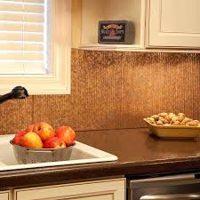 Copper Backsplash Tiles For Kitchen Tile Kitchen Backsplash Kitchen Room Marvelous Hammered
