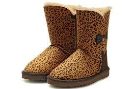 ugg sale de leopard bailey button boots 5803 brown