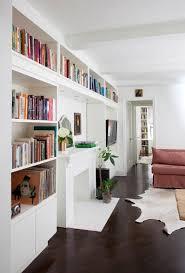 Built In Bookshelves Around Tv by Designer Visit Ashe Leandro In New York Butler Pantry