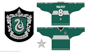 gryffindor and slytherin hockey jersey designs dave u0027s geeky hockey