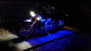 Led Strip Lights For Car Interior by Harley Davidson Engine Lighting