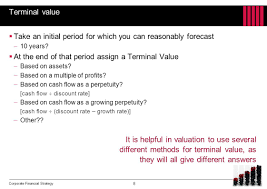 chapter 14 valuations and forecasting ppt download