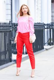 Pink Colour Combination Dresses by Onrepeat 5 Ways To Wear Red Trousers Dress For The Life You Want