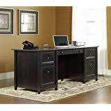 amazon com ikea hemnes desk black brown kitchen u0026 dining