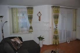 scheibengardinen wohnzimmer deko gardinen