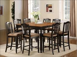 Square Kitchen Table With Bench Kitchen Dining Set With Bench Square Dining Room Table High Top
