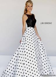 black and white dresses prom discount evening dresses