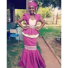 Shweshwe Traditional Wedding Dresses 2017 Latest Shweshwe