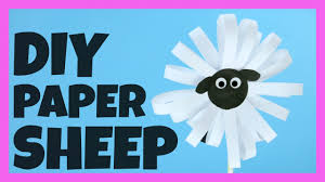 paper sheep craft easy peasy and fun