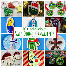 12 adorable salt dough ornaments the resourceful